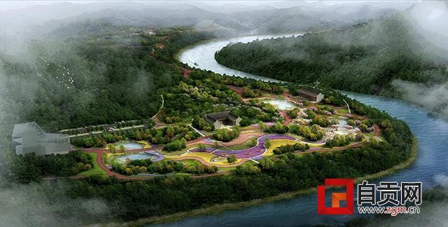 散步去!自贡又将多条景观绿道 以后可从市区步行直达花海了